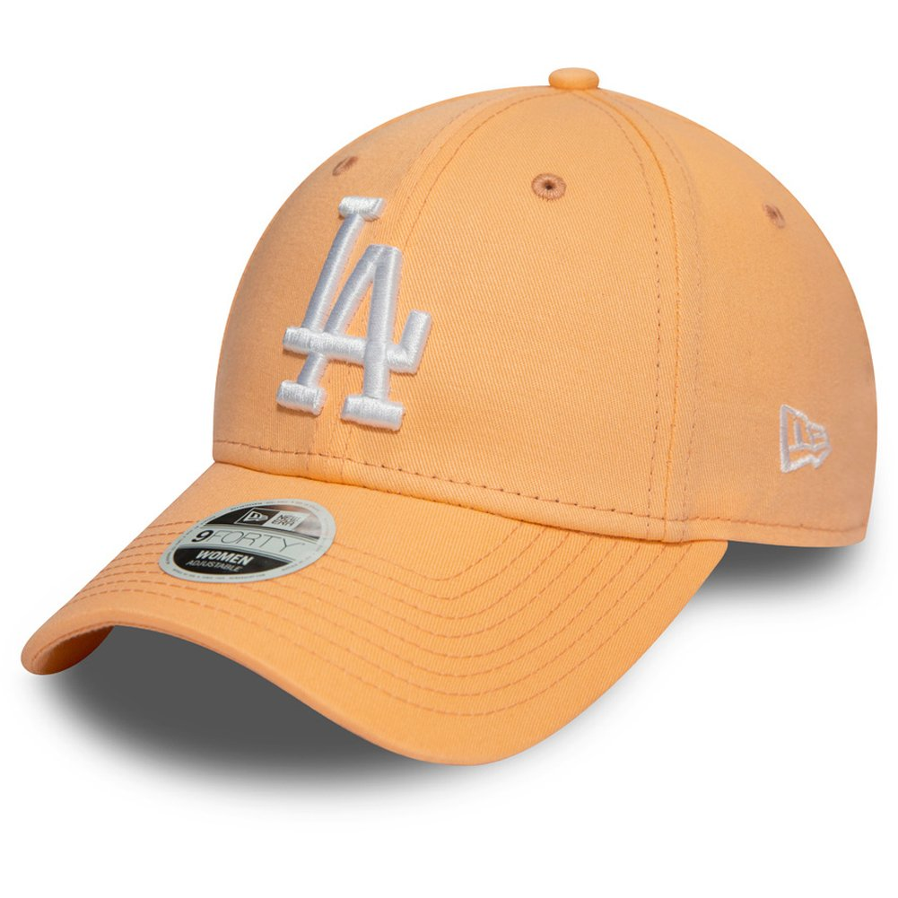 Los Angeles Dodgers schwarz peach New Era 9Forty Damen Cap