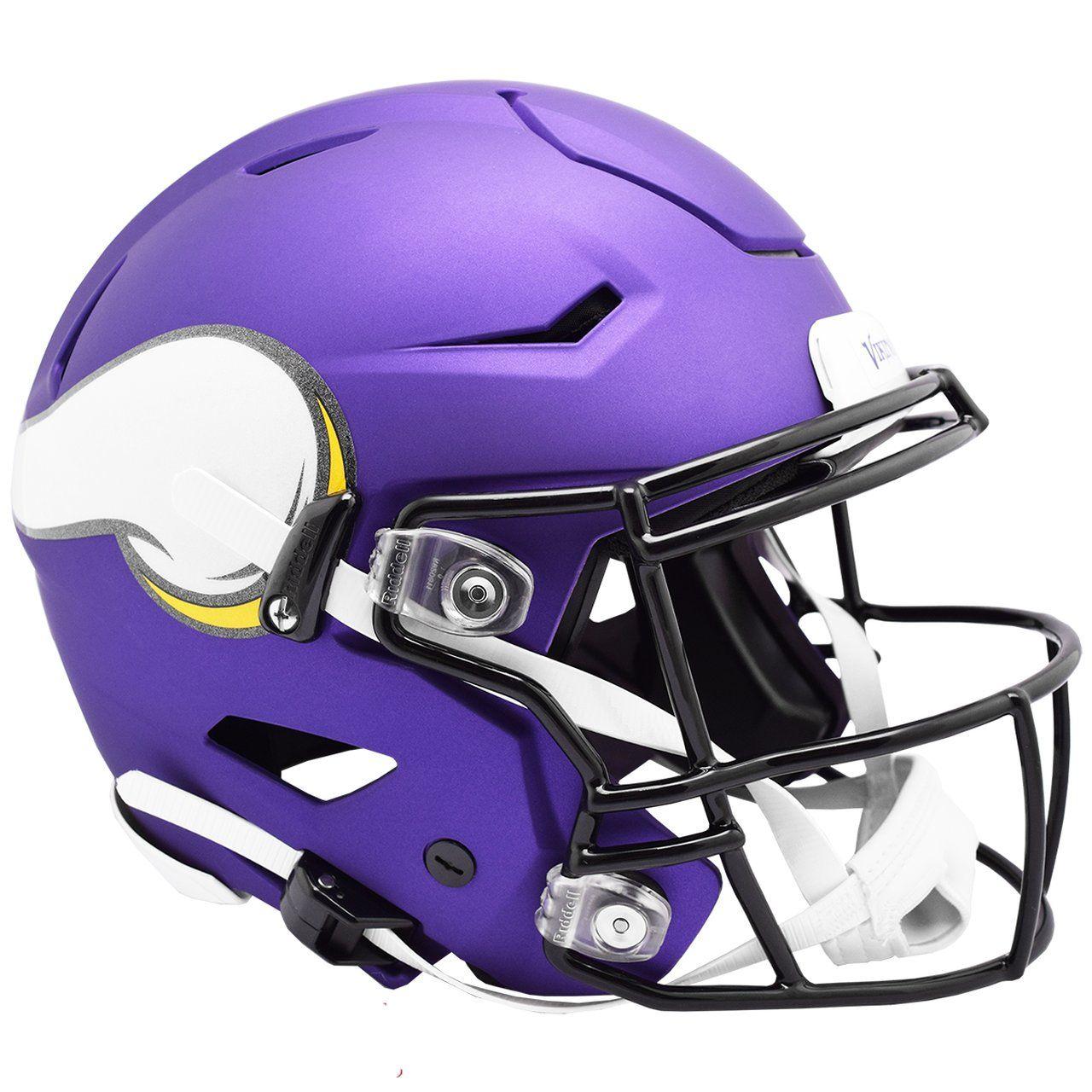 amfoo - Riddell Authentic SpeedFlex Helm - NFL Minnesota Vikings
