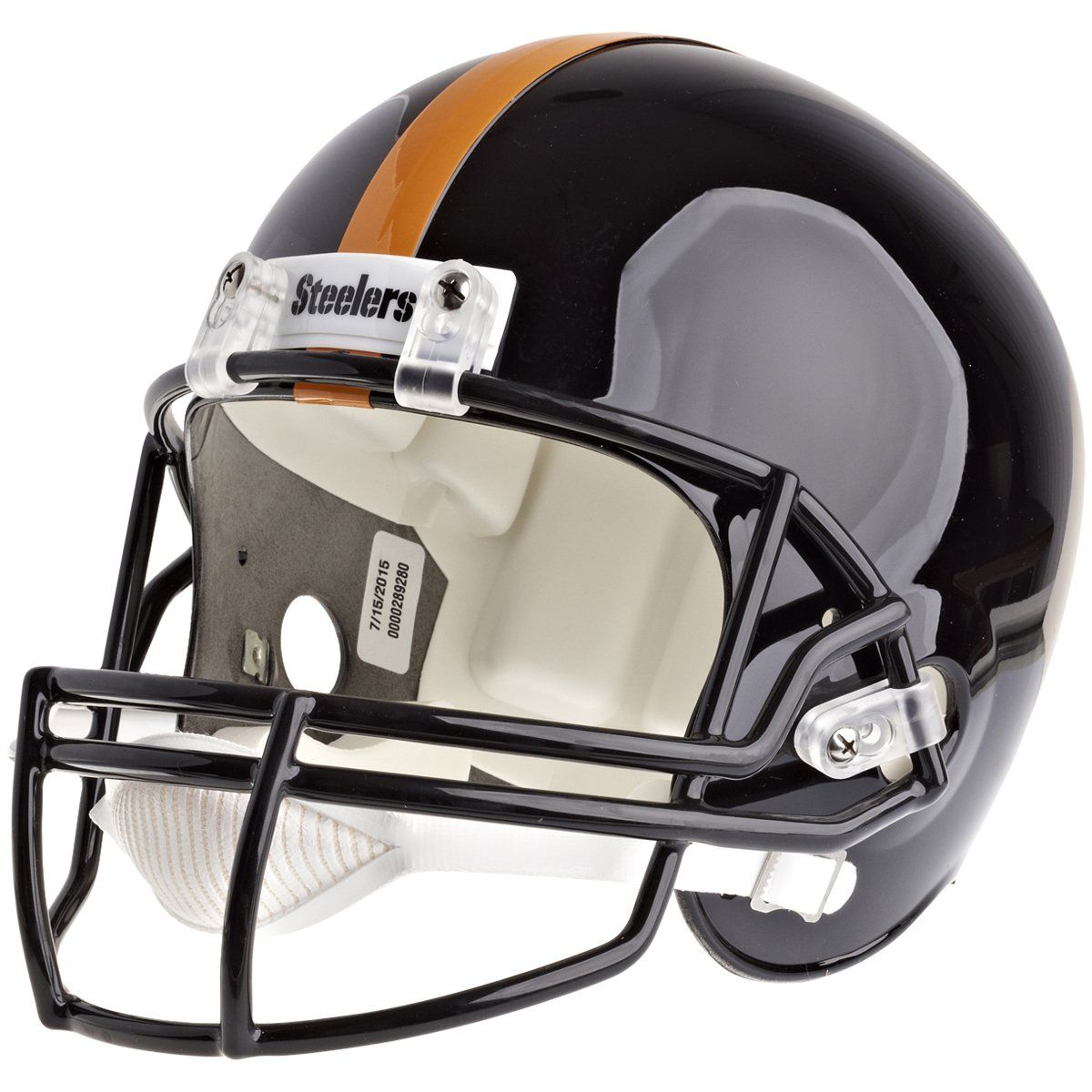 amfoo - Riddell VSR4 Replica Football Helm - NFL Pittsburgh Steelers