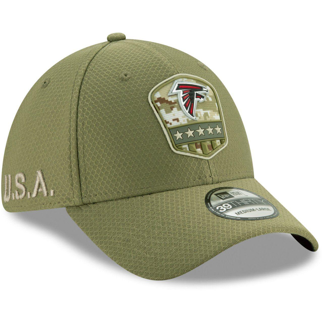 amfoo - New Era 39Thirty Cap Salute to Service Atlanta Falcons