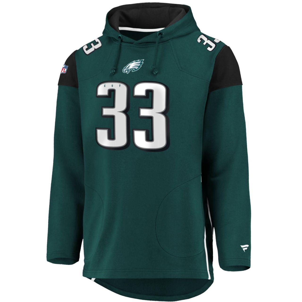 amfoo - Iconic Franchise Long Hoodie - NFL Philadelphia Eagles