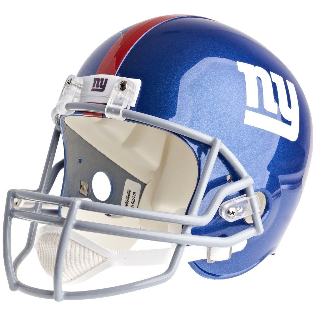 amfoo - Riddell VSR4 Replica Football Helm - NFL New York Giants