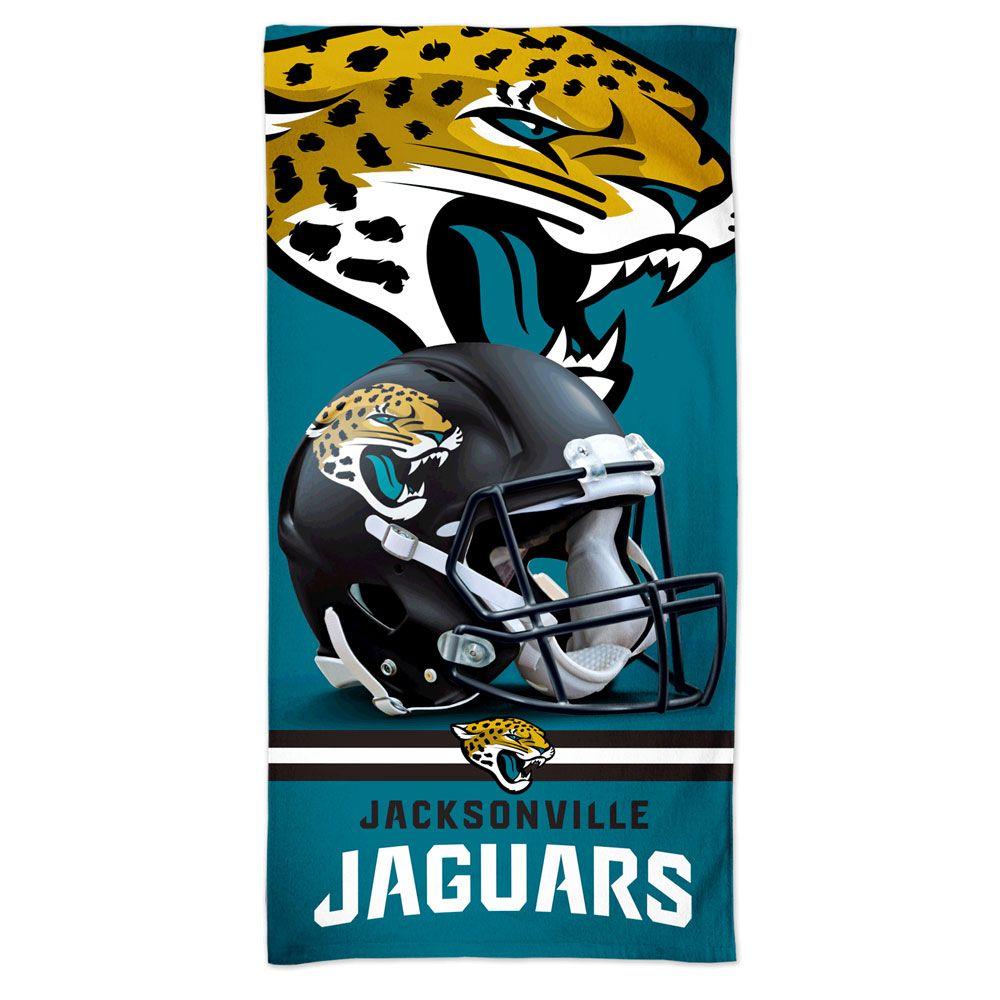 amfoo - Wincraft NFL Jacksonville Jaguars 3D Strandtuch 150x75cm