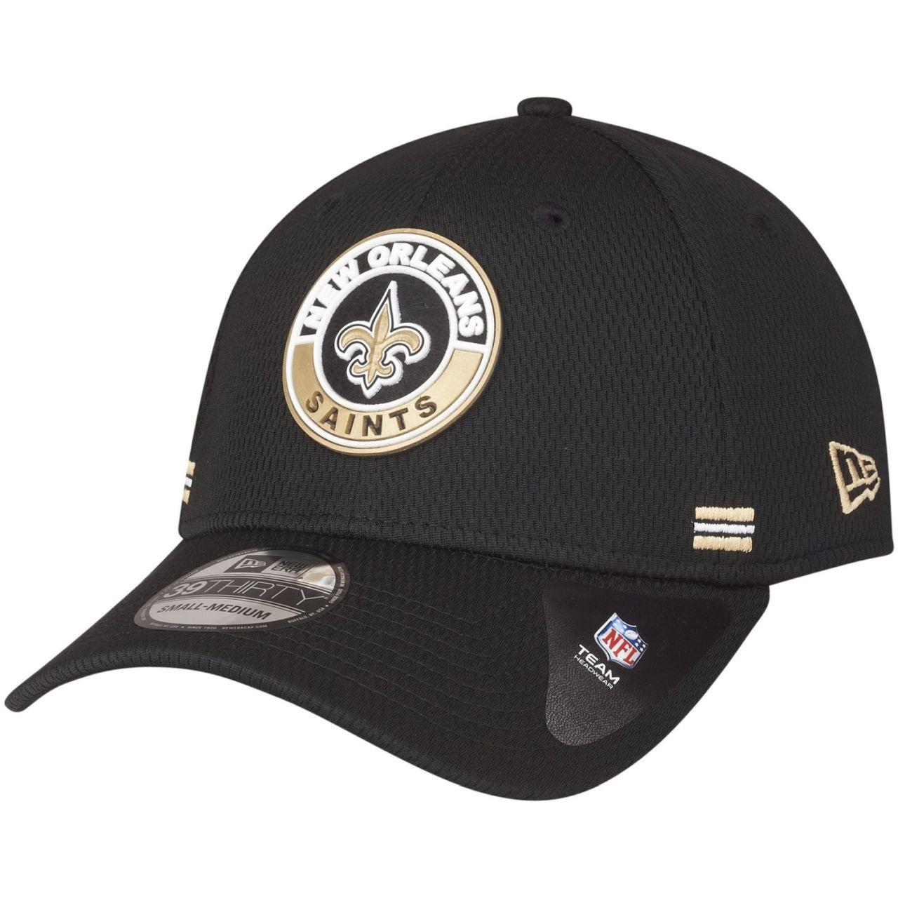 amfoo - New Era 39Thirty Cap - ROAD New Orleans Saints