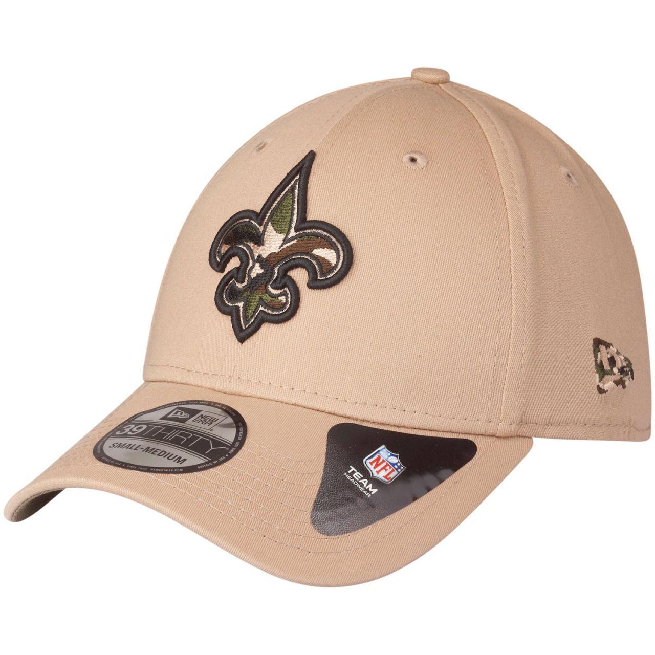 amfoo - New Era 39Thirty Stretch Cap - CAMO New Orleans Saints