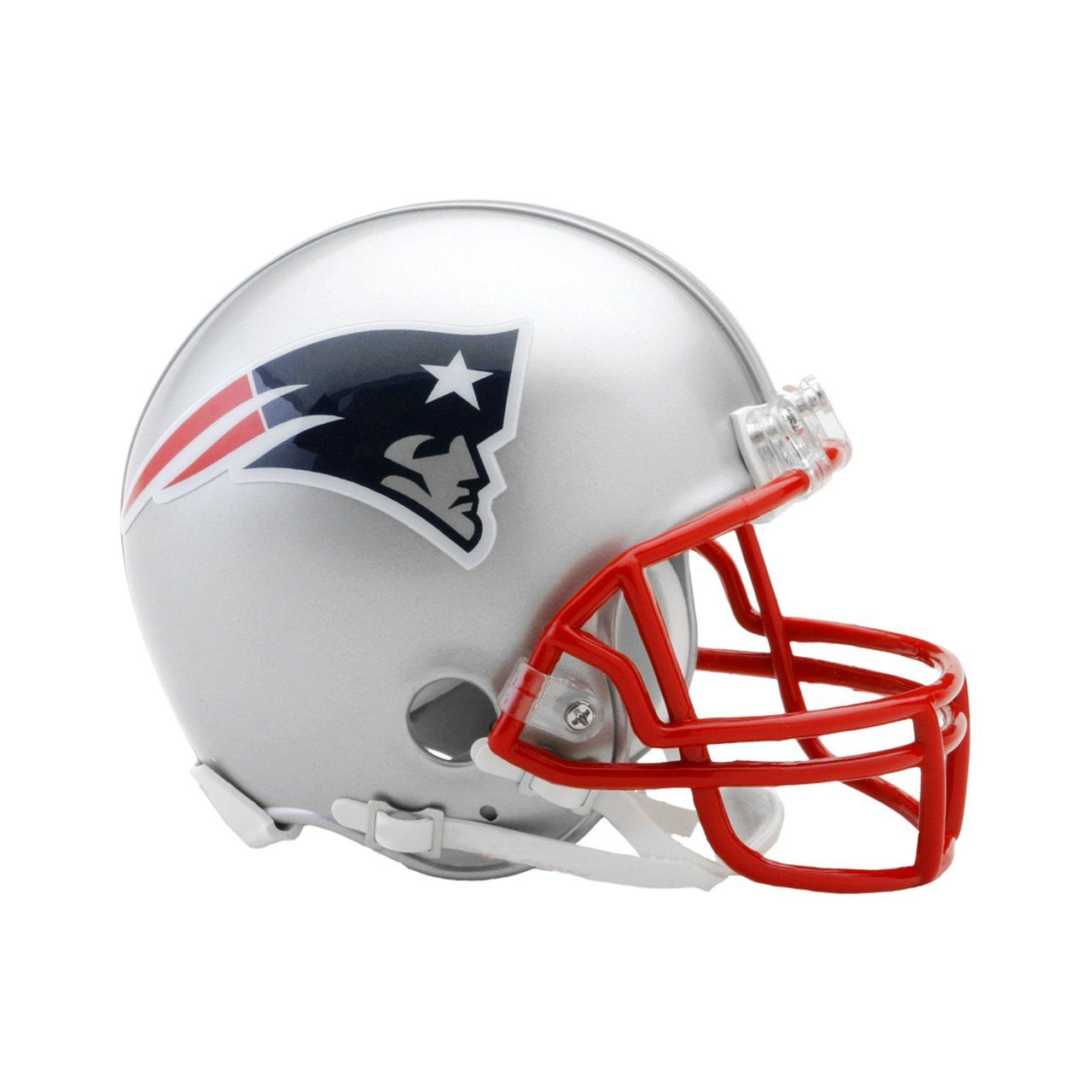 amfoo - Riddell VSR4 Mini Football Helm - NFL New England Patriots