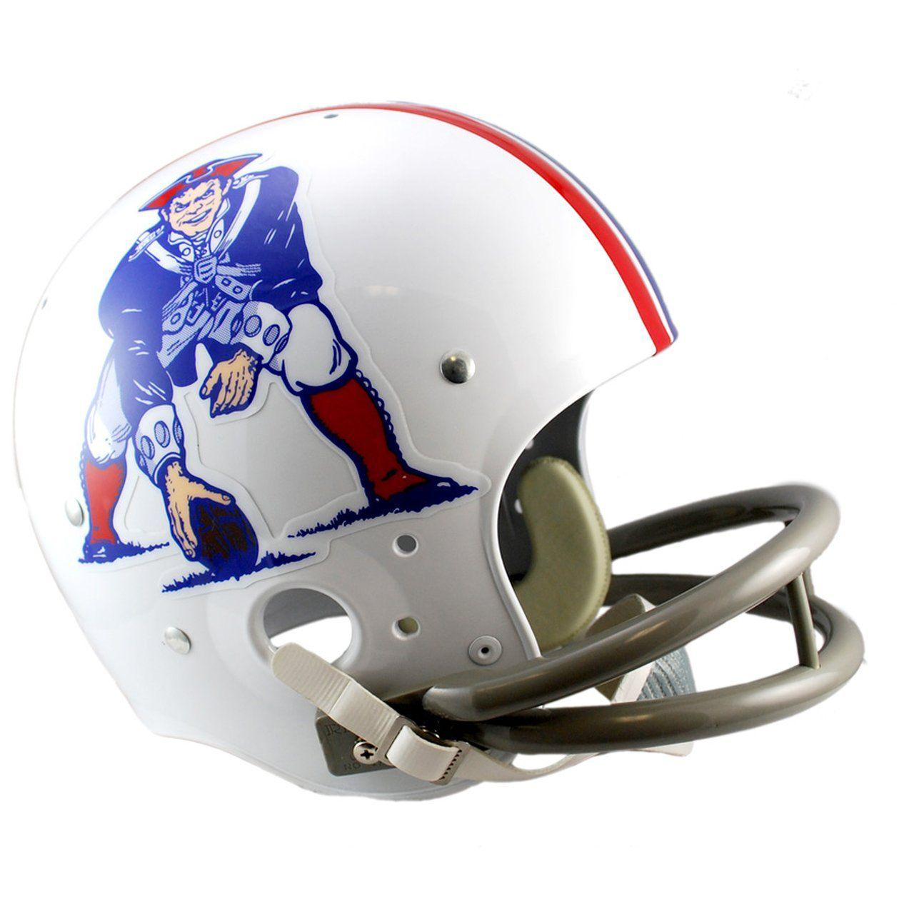 amfoo - Riddell TK Replica Football Helm New England Patriots 65-81