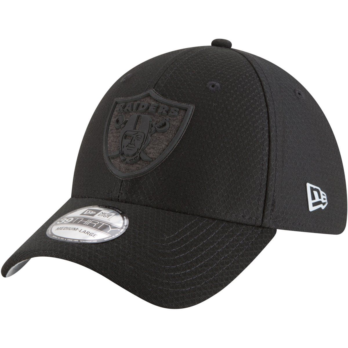 amfoo - New Era 39Thirty Cap - TRAINING Oakland Raiders