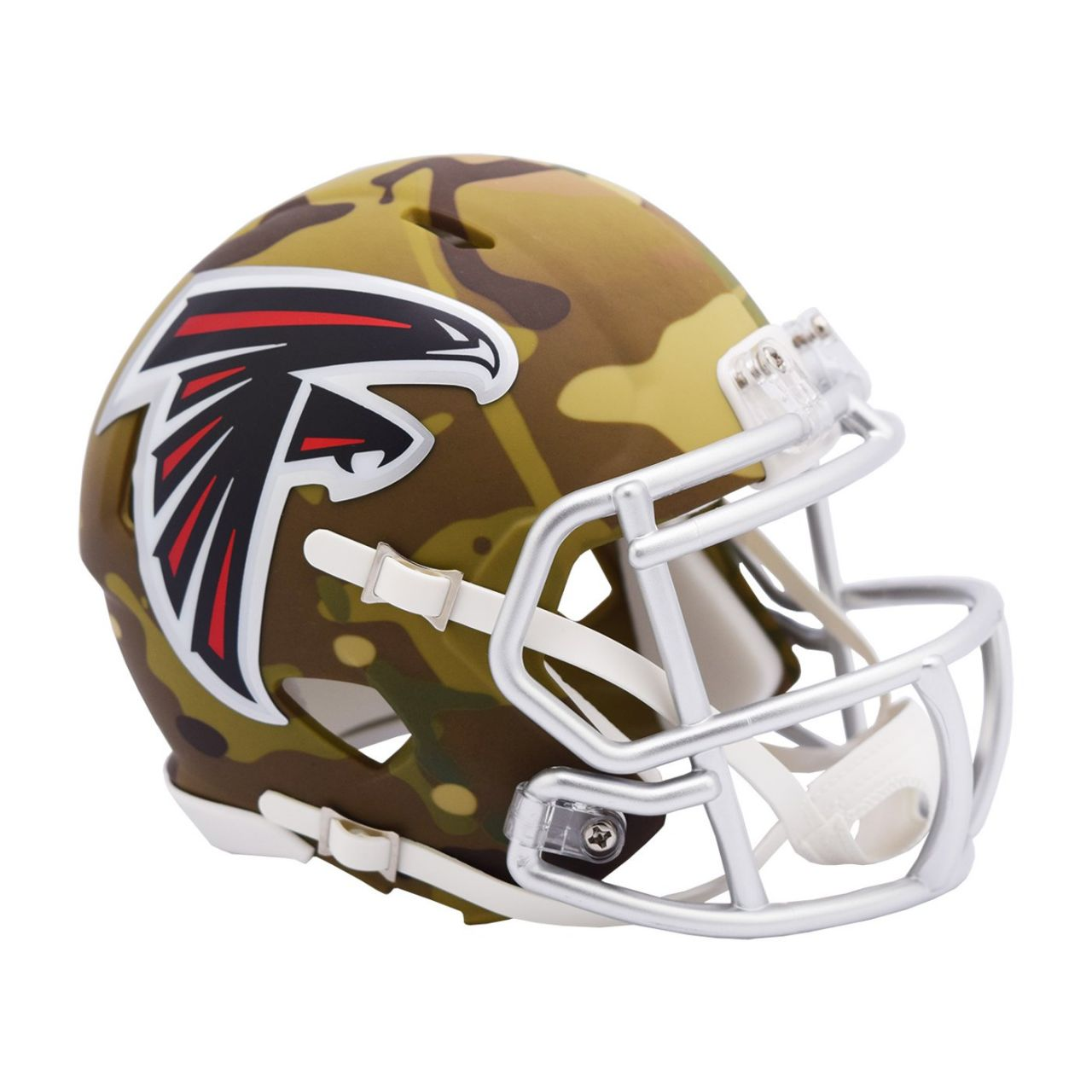 amfoo - Riddell Mini Football NFL Helm MULTICAM Atlanta Falcons