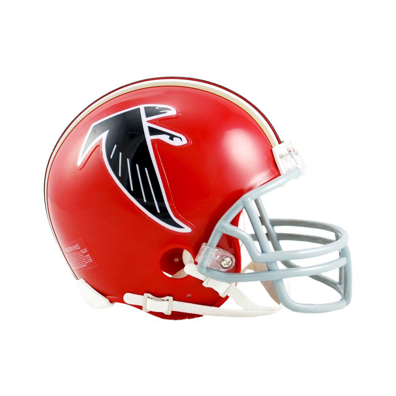 amfoo - Riddell VSR4 Mini Football Helm - Atlanta Falcons 1966-1969