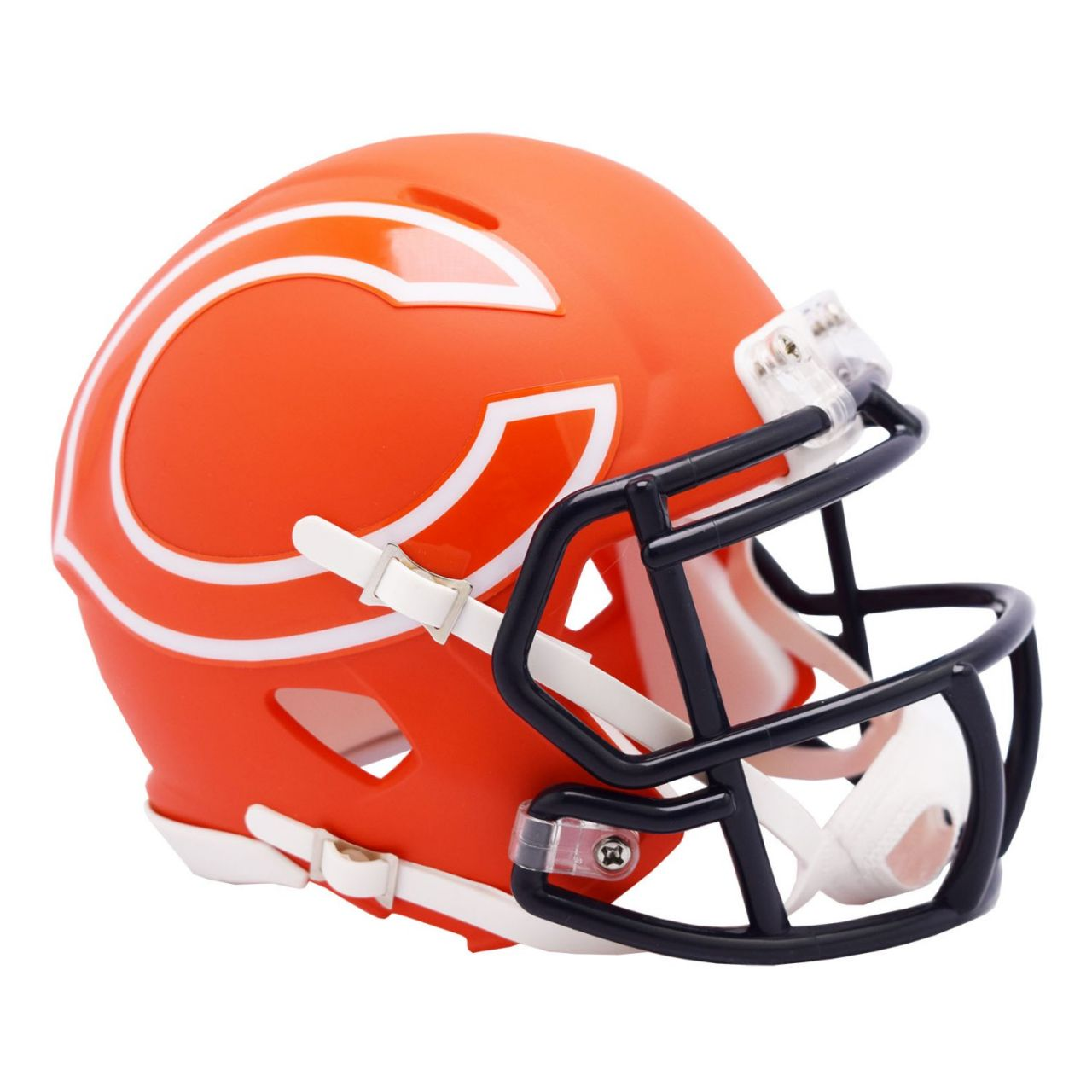 amfoo - Riddell Speed Mini Football Helm - NFL AMP Chicago Bears