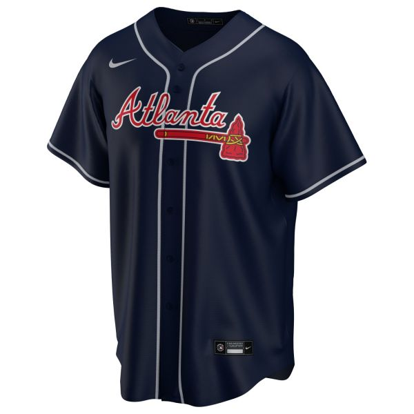 Nike Atlanta Braves Alternate Baseball Jersey Trikot