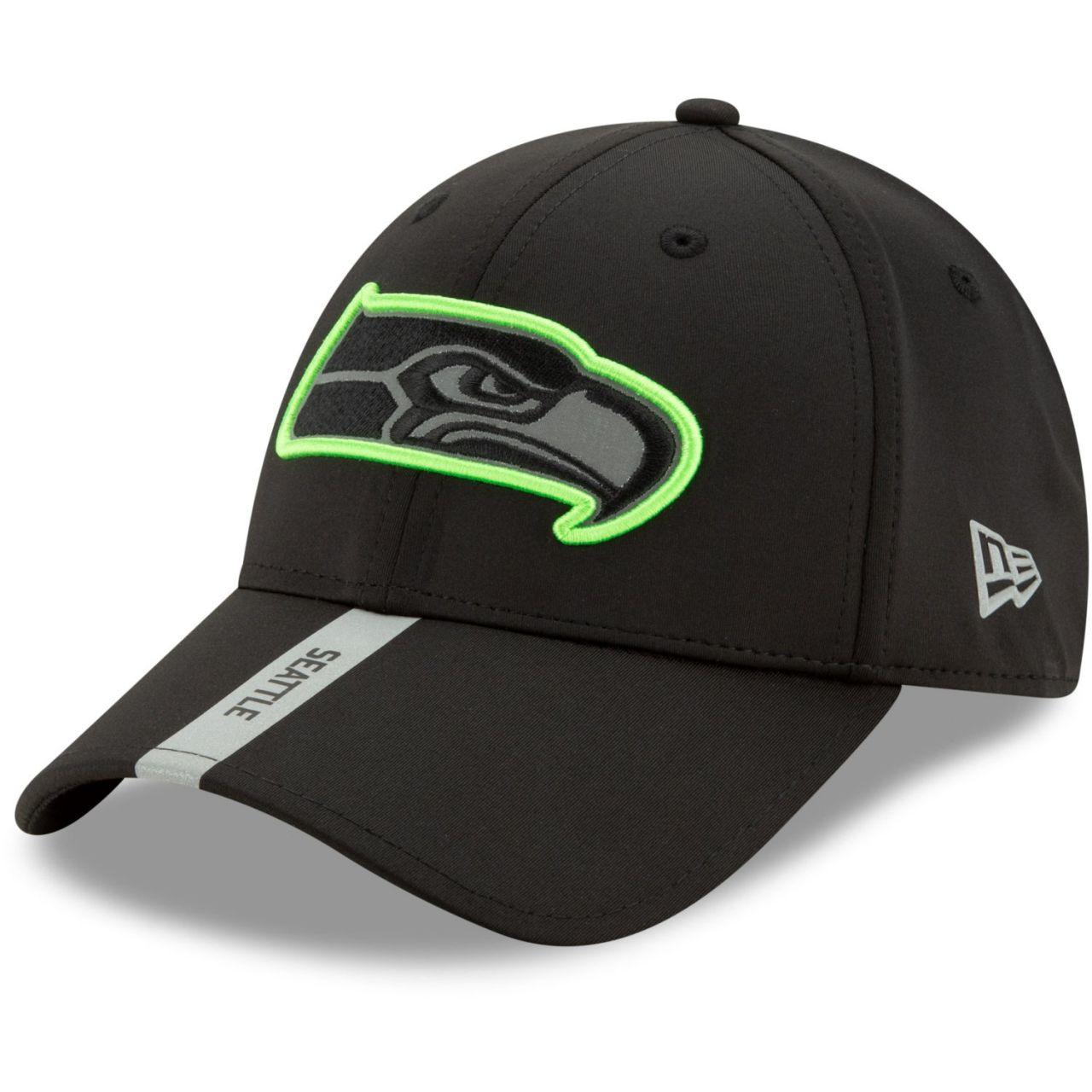 amfoo - New Era 9FORTY Stretch Snap Cap - COMBINE Seattle Seahawks