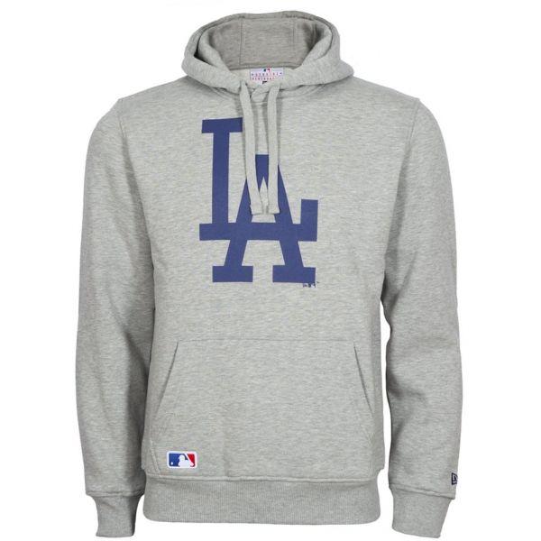 New Era Hoody - MLB Los Angeles Dodgers grau