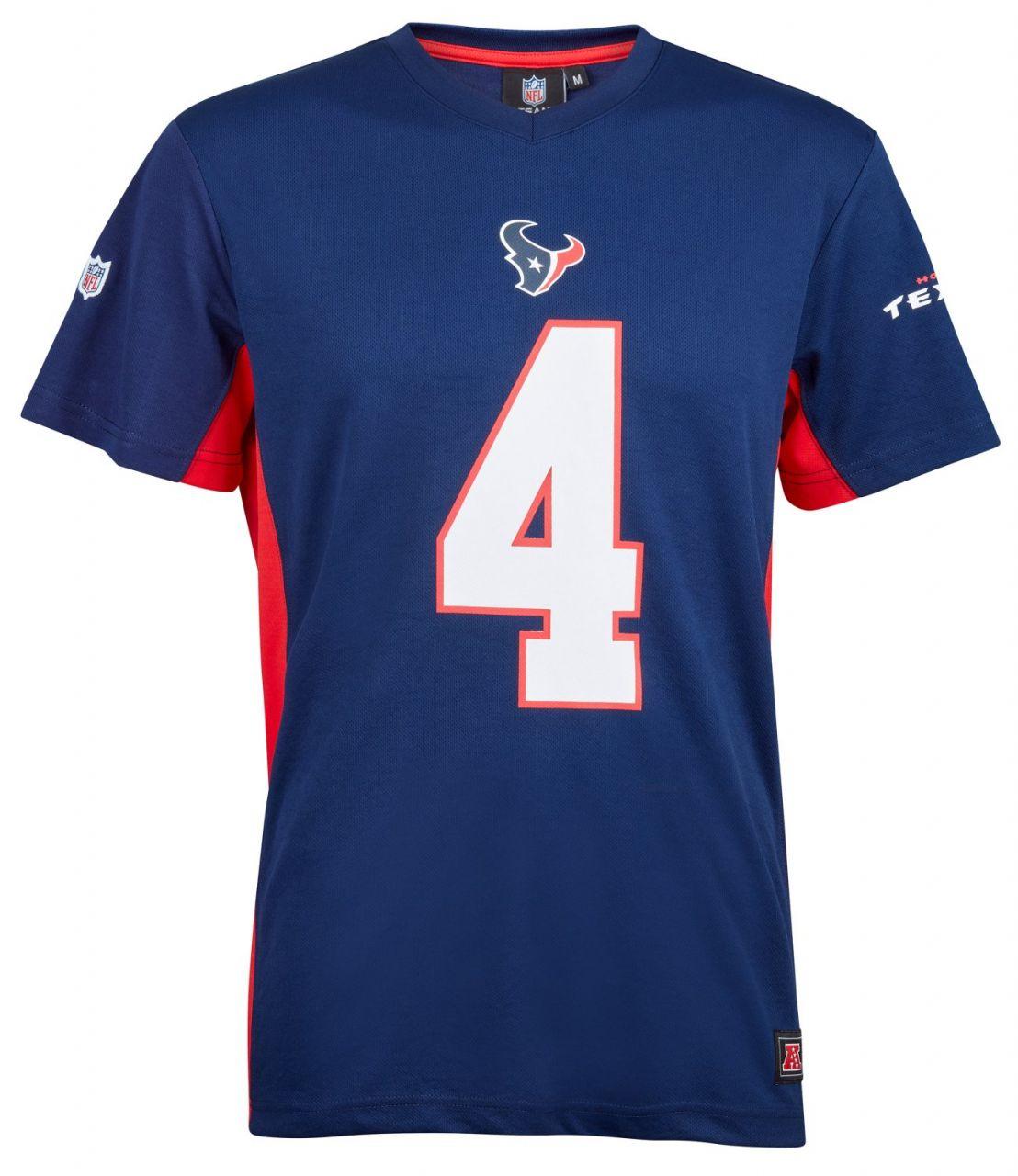 amfoo - NFL Polymesh Jersey Shirt - Houston Texans #4 Watson
