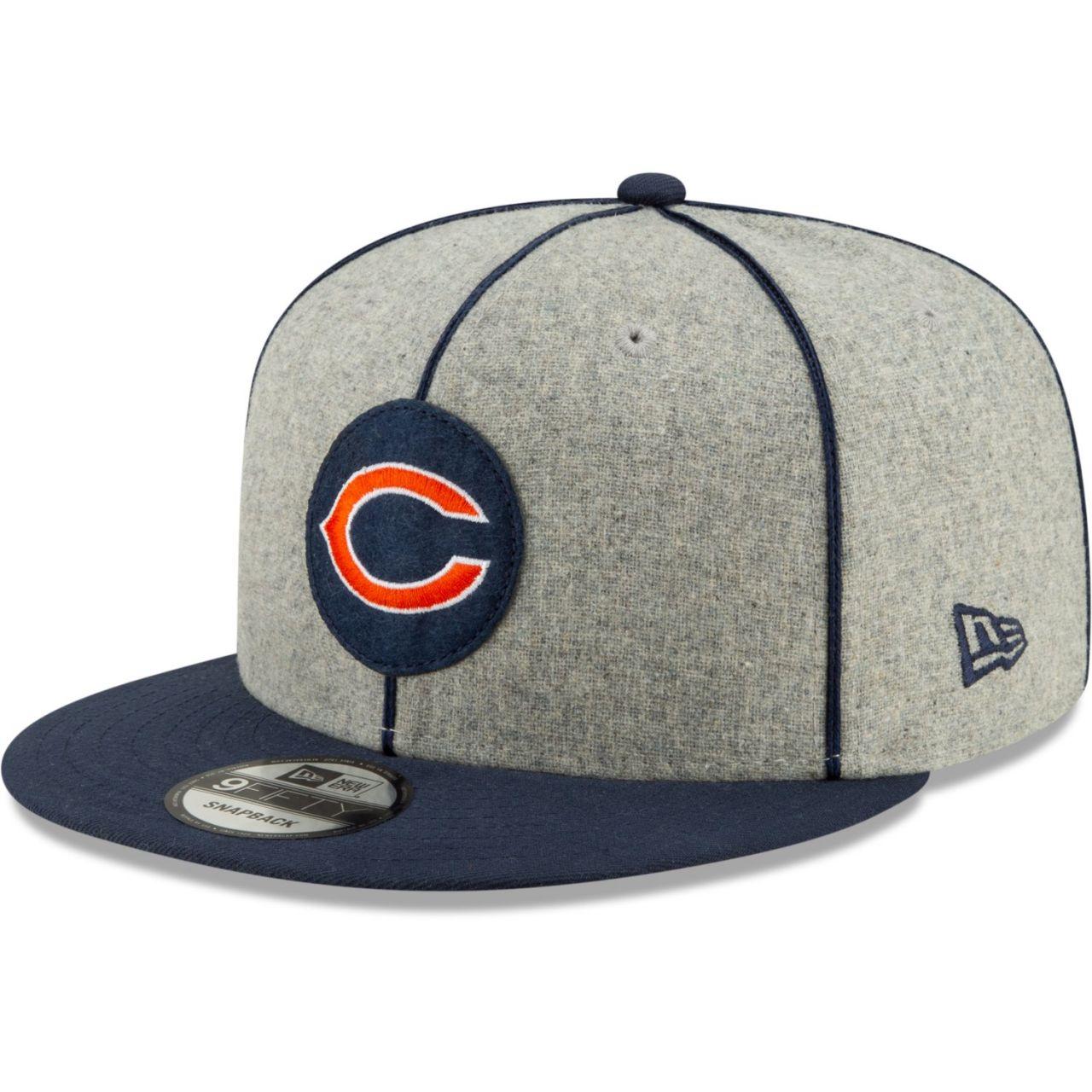amfoo - New Era 9Fifty Mesh Snapback Cap - Chicago Bears 1920