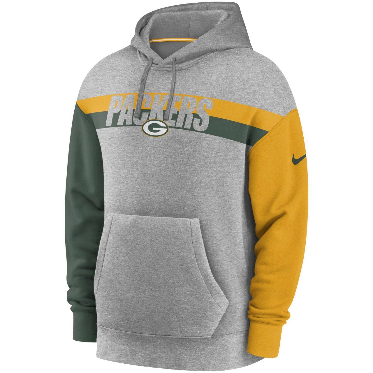 amfoo - Nike NFL Heritage Tri-Blend Hoody - Green Bay Packers