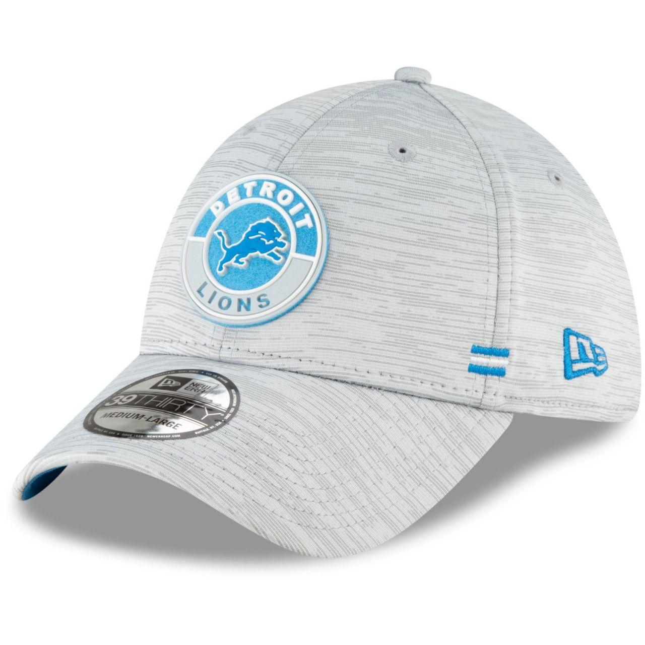 amfoo - New Era 39Thirty Cap - SIDELINE 2020 Detroit Lions