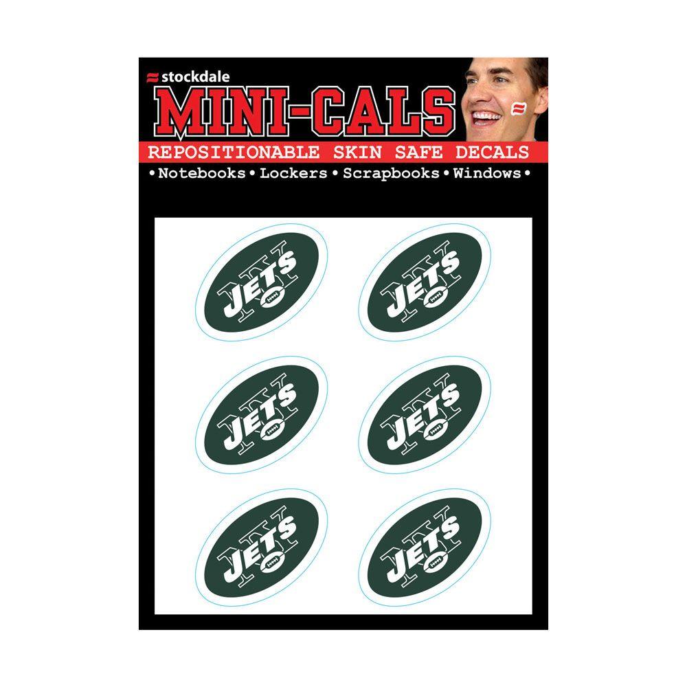 amfoo - Wincraft 6er Gesicht Aufkleber 3cm - NFL New York Jets