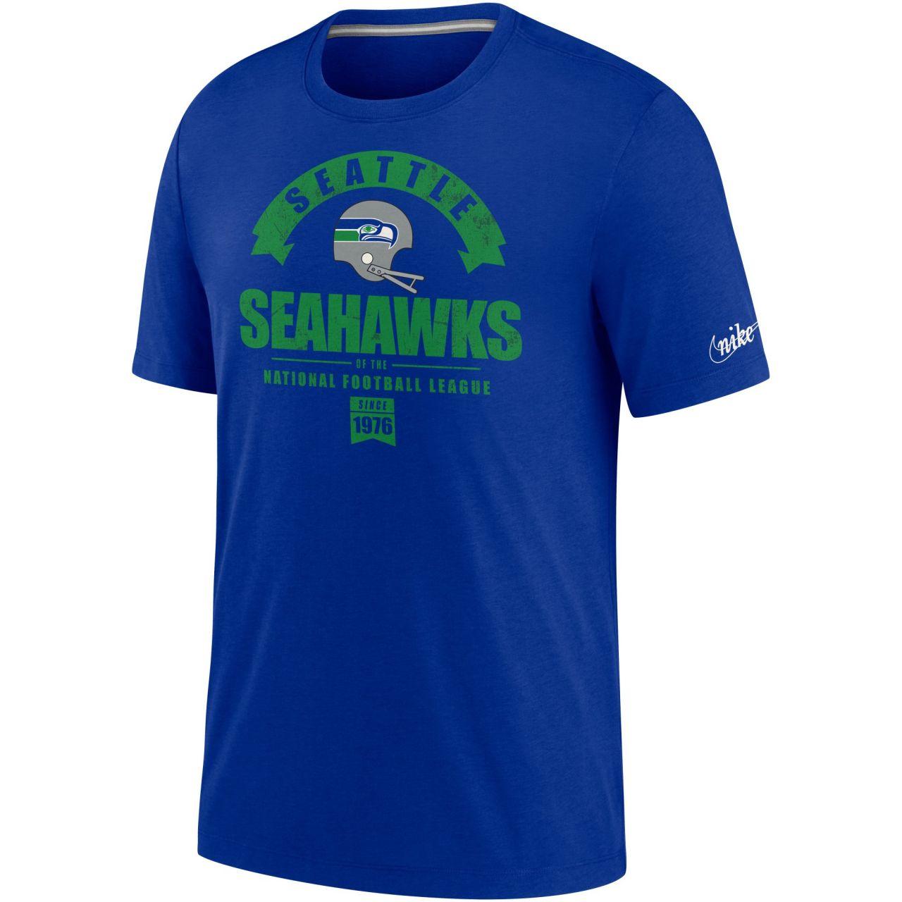 amfoo - Nike Historic Tri-Blend Shirt - Seattle Seahawks 1983-1990