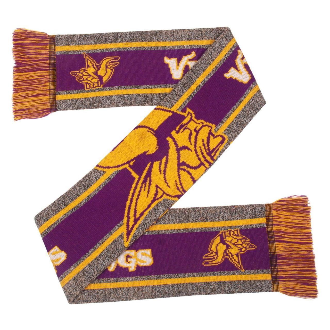 amfoo - FOCO NFL Winter Schal - GREY BIG LOGO Minnesota Vikings