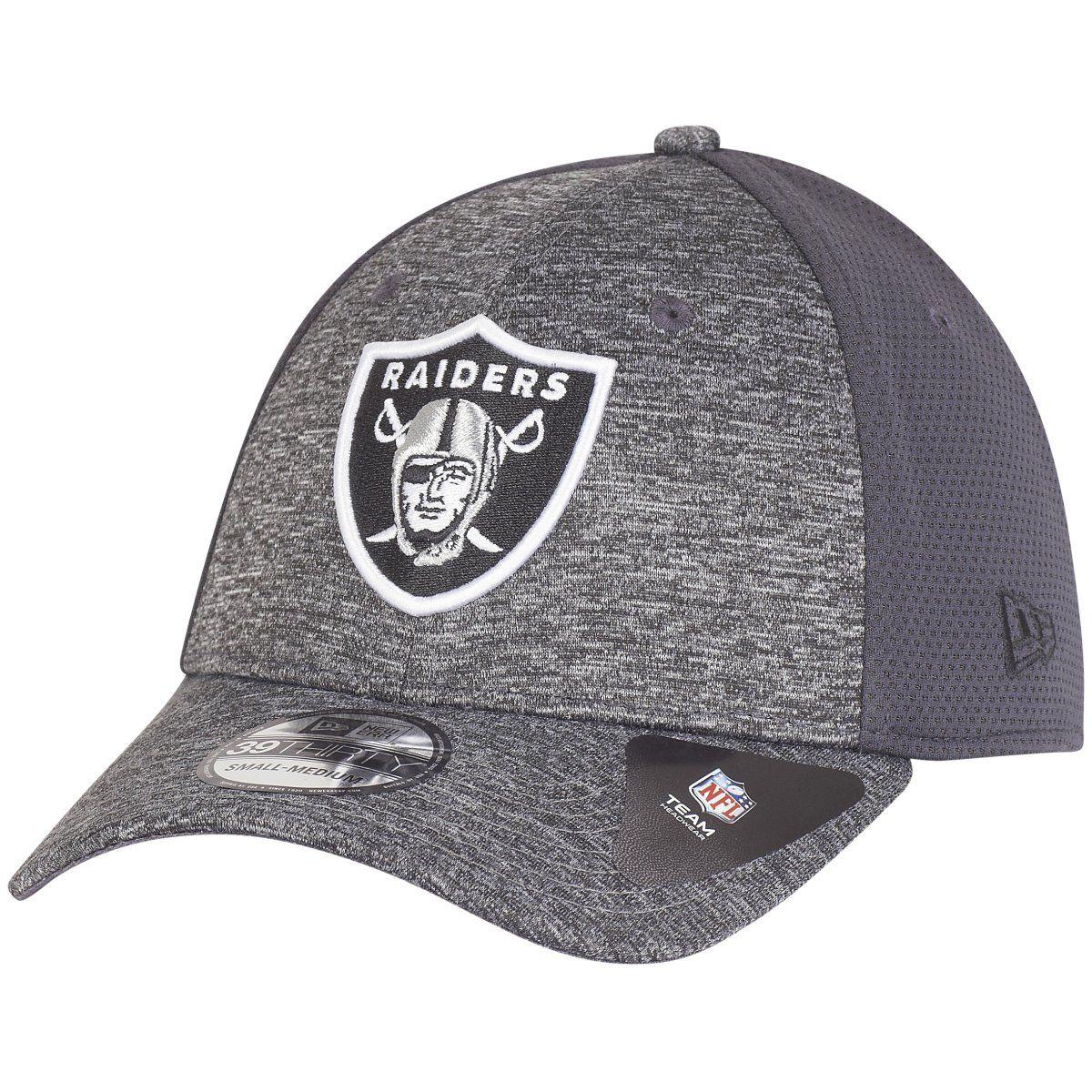 amfoo - New Era 39Thirty Cap - SHADOW Oakland Raiders graphite