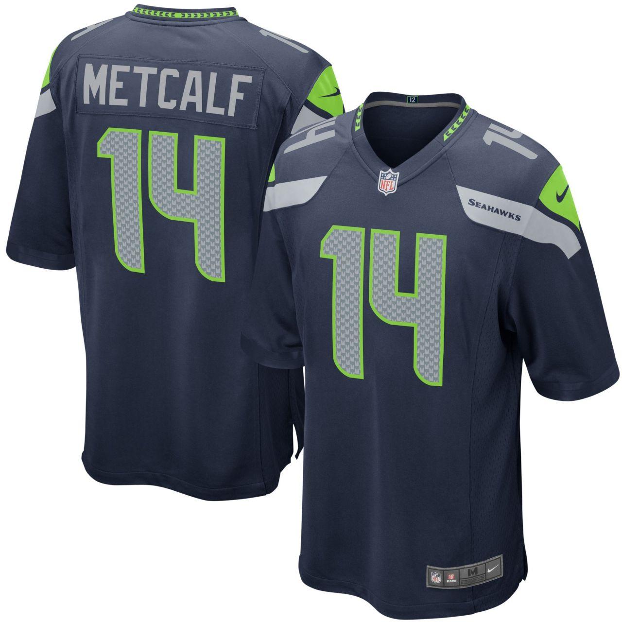 amfoo - Nike GAME Jersey Trikot Seattle Seahawks #14 DK Metcalf