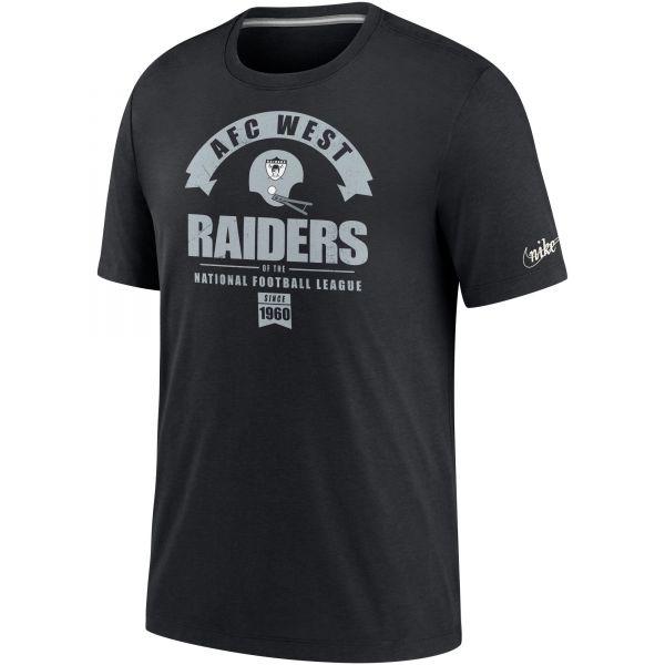 Nike Historic Tri-Blend Shirt - Las Vegas Raiders 1963-1981