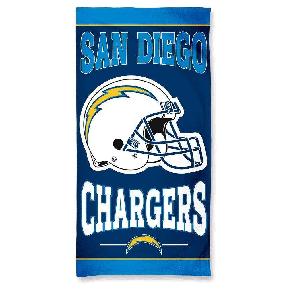 amfoo - Wincraft NFL Los Angeles Chargers Strandtuch 150x75cm