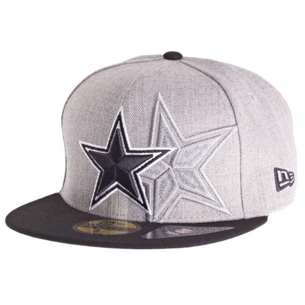 New Era 59Fifty Cap - SCREENING Dallas Cowboys grau
