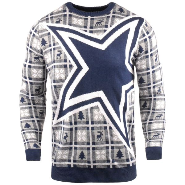 NFL Ugly Sweater XMAS Strick Pullover - Dallas Cowboys