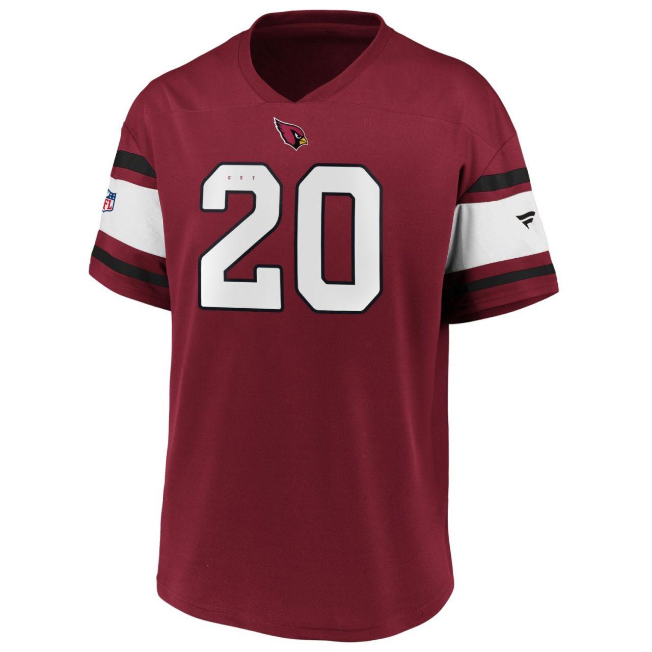 amfoo - Iconic Poly Mesh Supporters Jersey - Arizona Cardinals