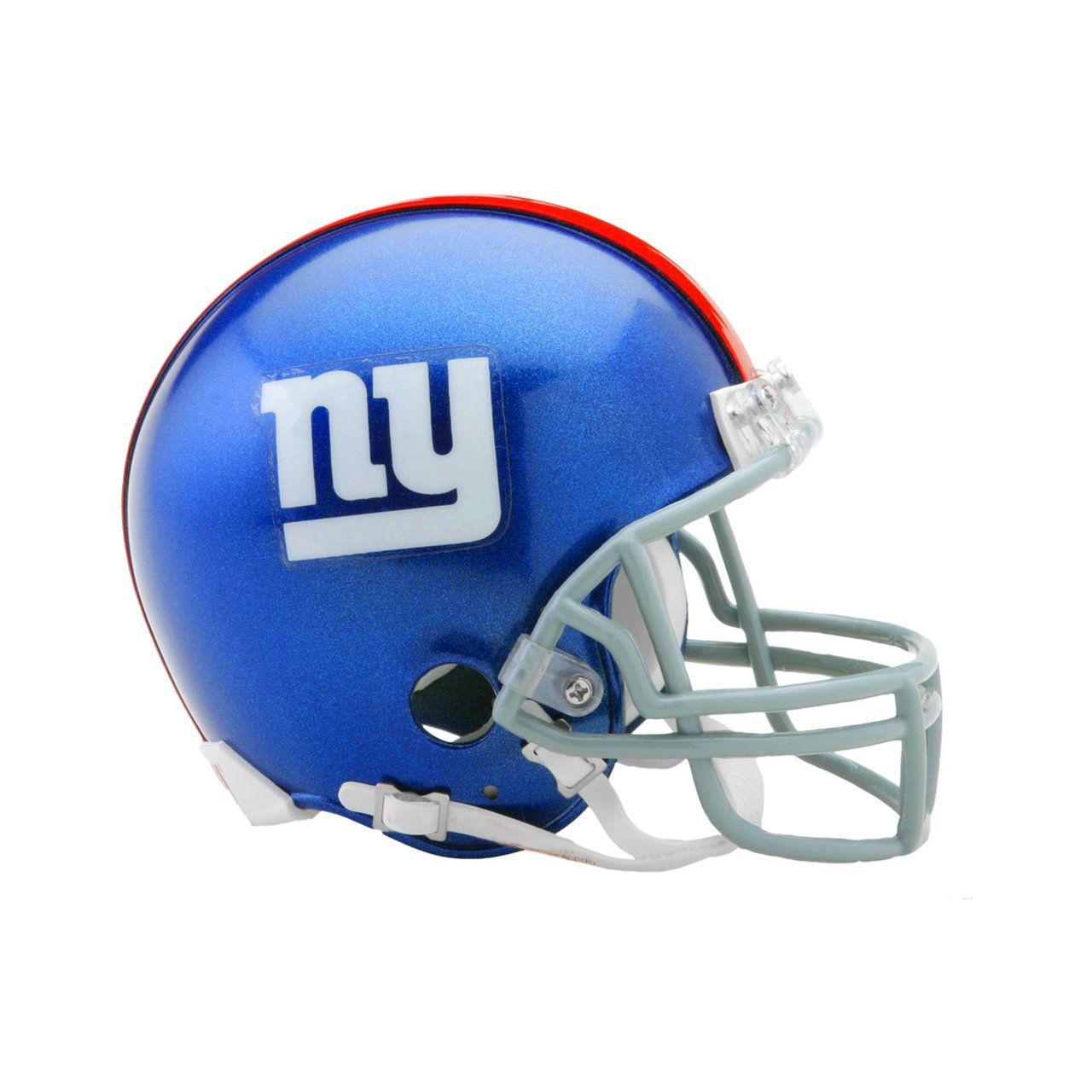 amfoo - Riddell VSR4 Mini Football Helm - NFL New York Giants