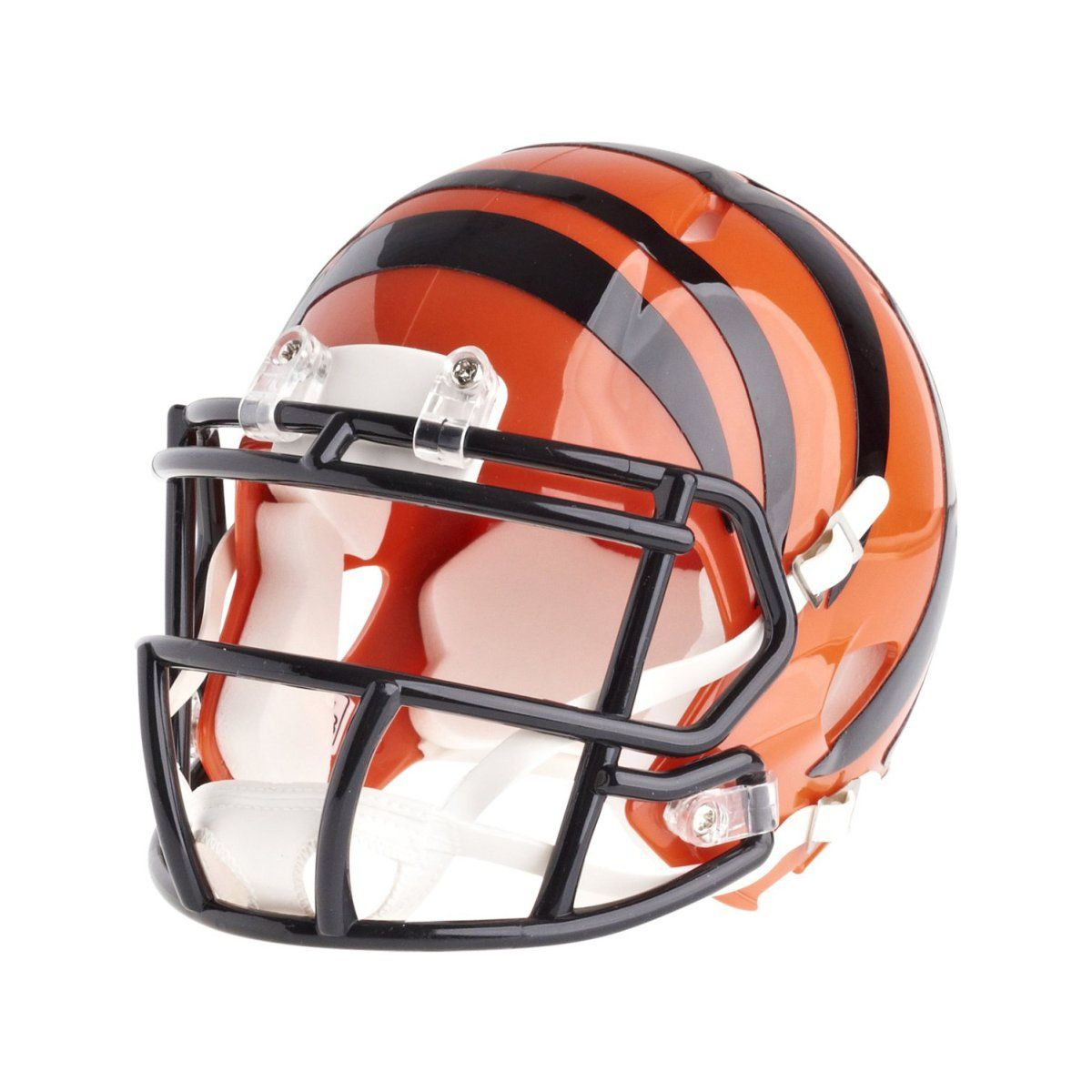 amfoo - Riddell Mini Football Helm - NFL Speed Cincinnati Bengals