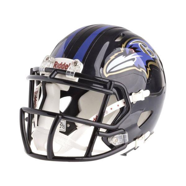 Riddell Mini Football Helm - NFL Speed Baltimore Ravens