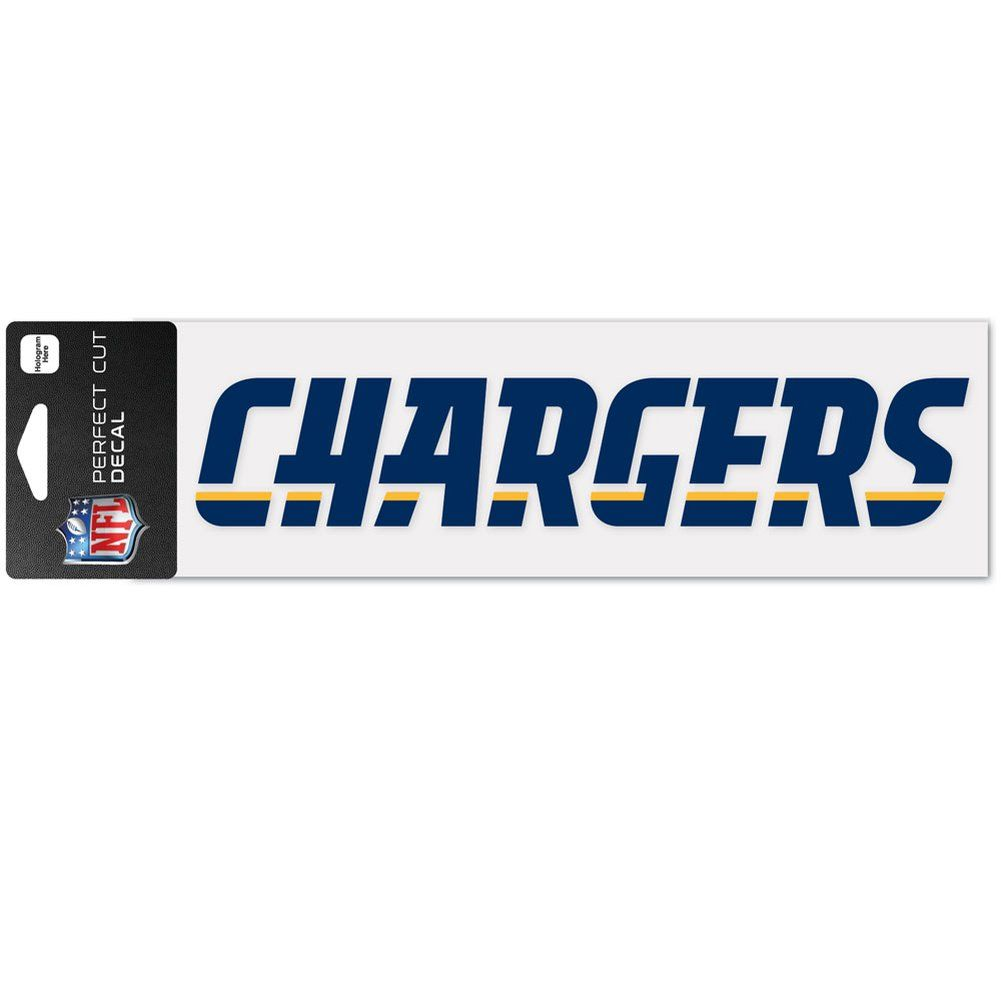 amfoo - Wincraft Aufkleber 8x25cm - NFL Los Angeles Chargers