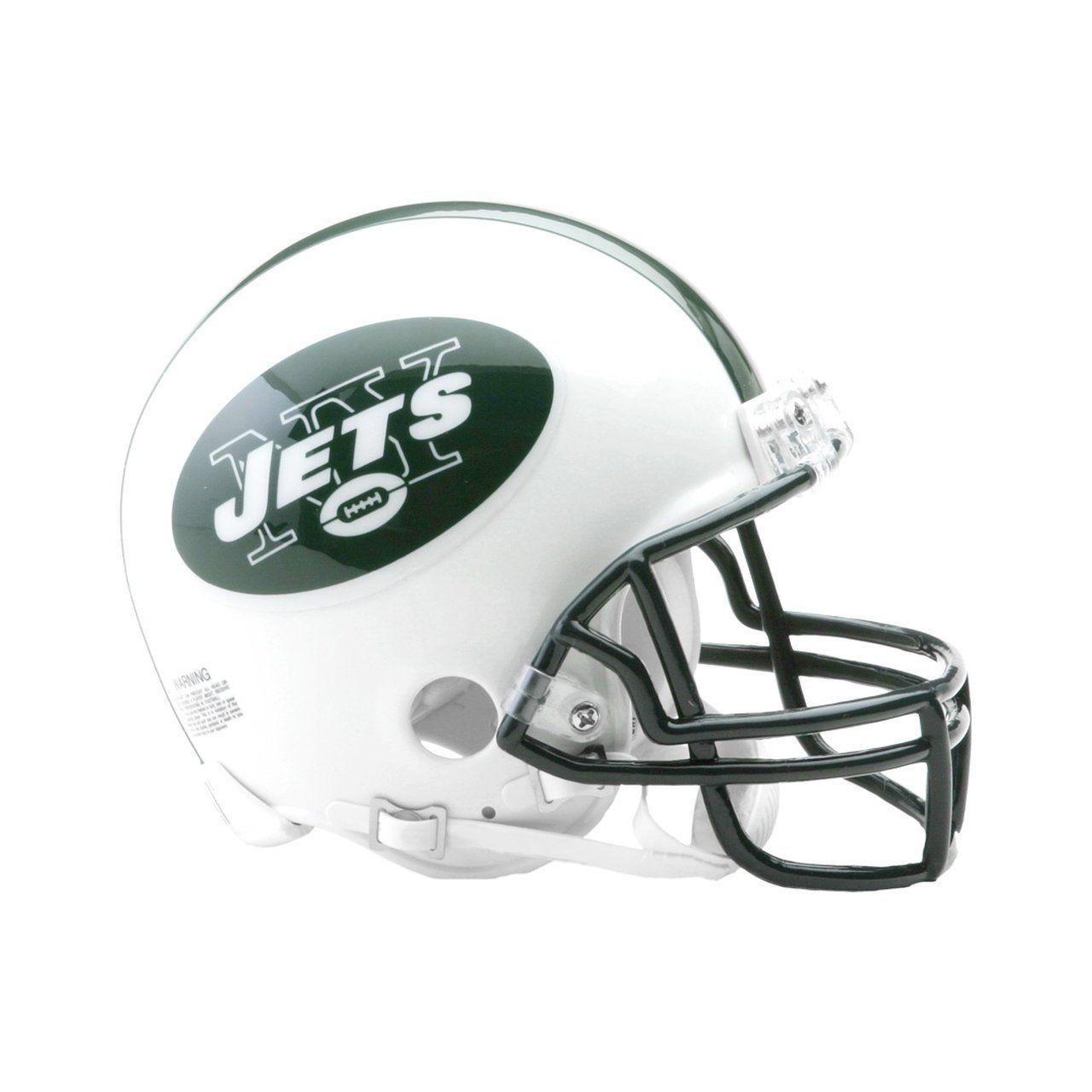 amfoo - Riddell VSR4 Mini Football Helm - New York Jets 1998-2018