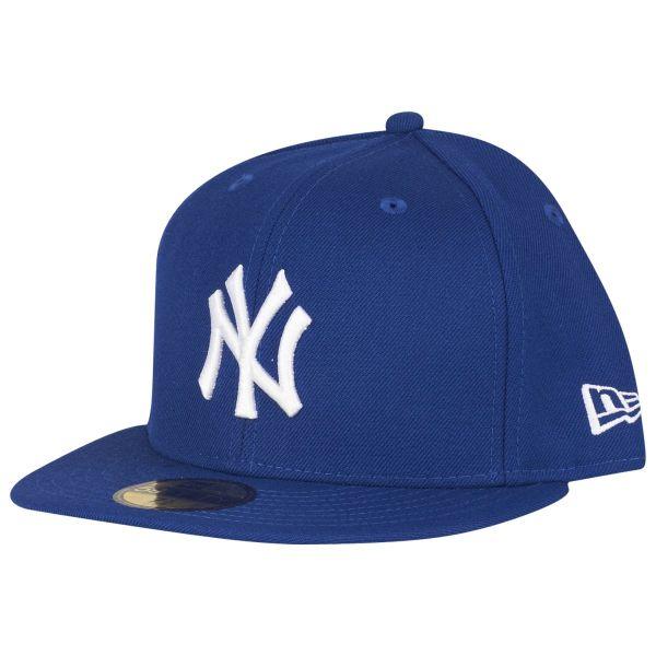 New Era 59Fifty Cap - BASIC New York Yankees royal / weiß