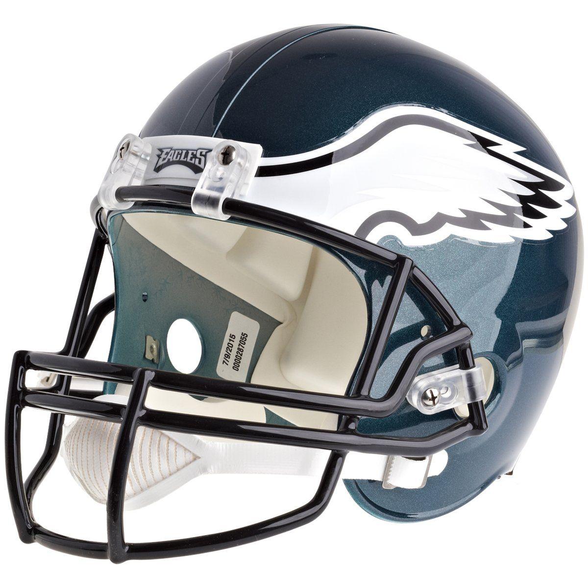amfoo - Riddell VSR4 Replica Football Helm - NFL Philadelphia Eagles