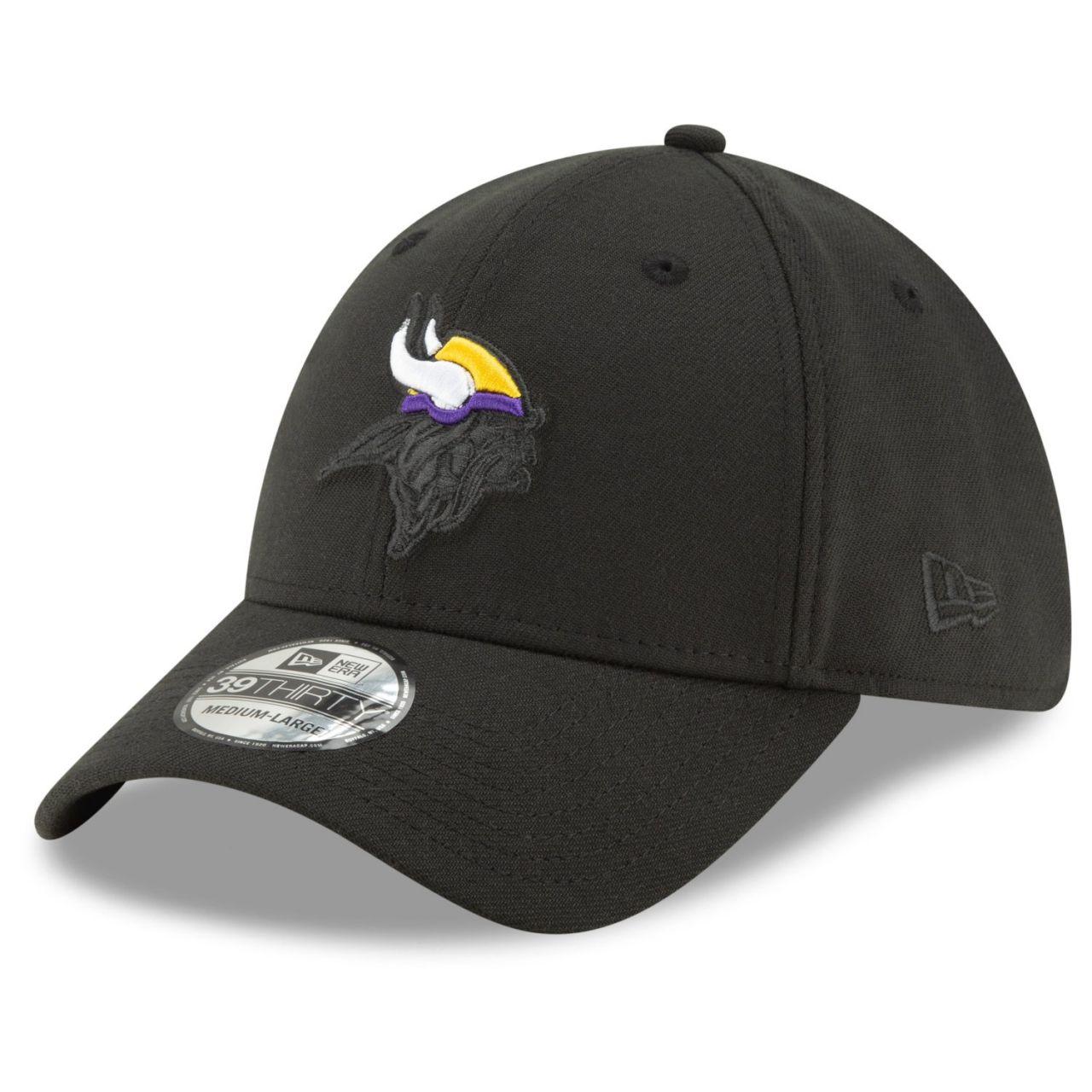 amfoo - New Era 39Thirty Stretch Cap - ELEMENTS Minnesota Vikings