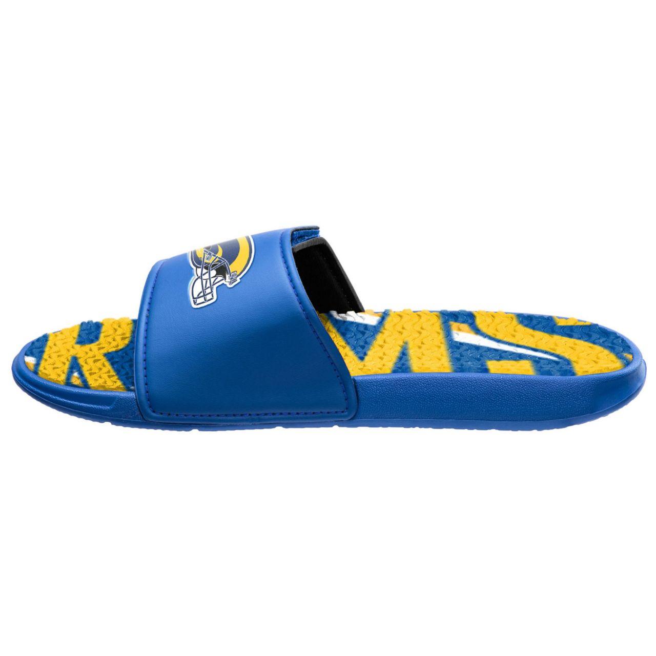 amfoo - Los Angeles Rams Badelatschen NFL GEL Sport Slides