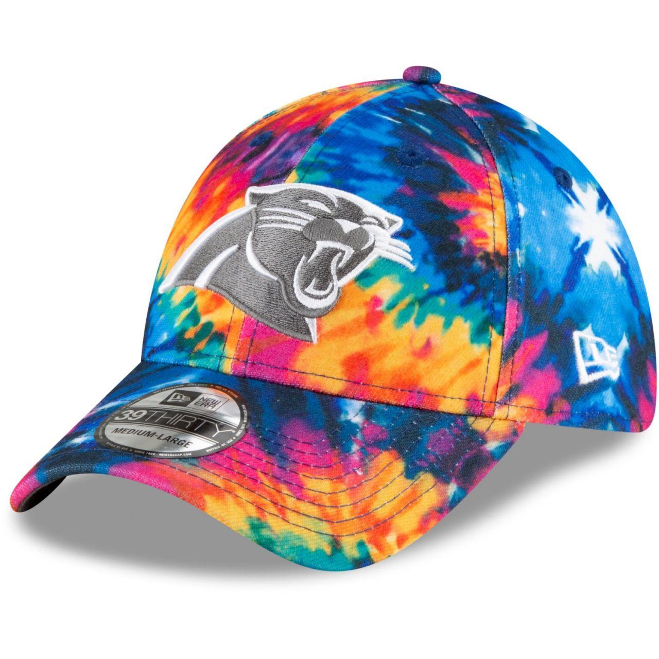 amfoo - New Era 39Thirty Cap - CRUCIAL CATCH Carolina Panthers