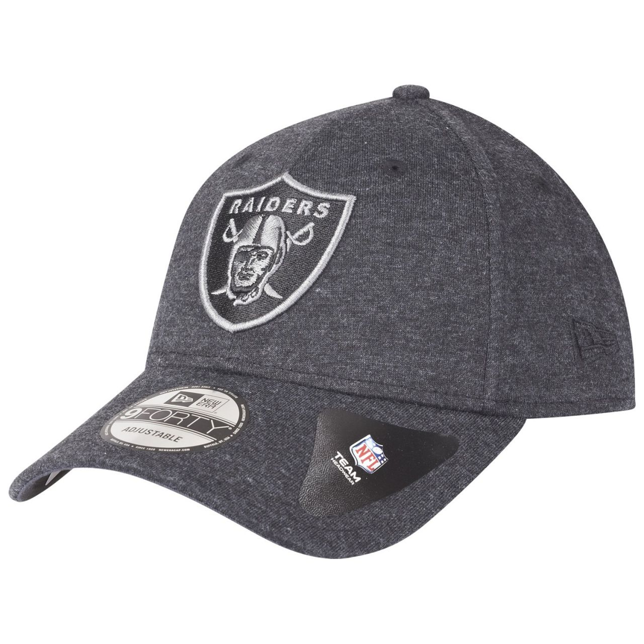amfoo - New Era 9Forty NFL Cap - JERSEY Oakland Raiders graphit