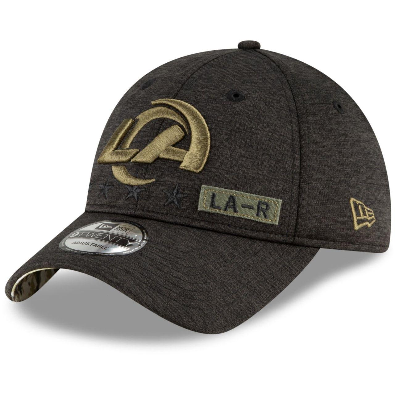 amfoo - New Era 9TWENTY Cap Salute to Service Los Angeles Rams