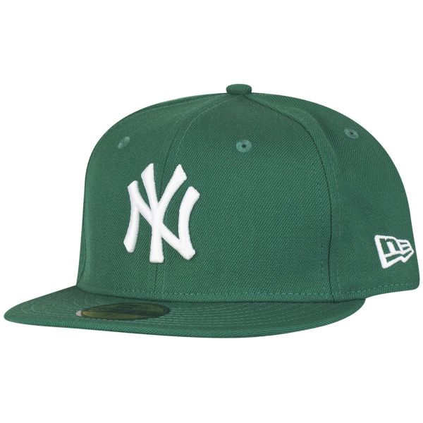 New Era 59Fifty Cap - BASIC New York Yankees grün / weiß