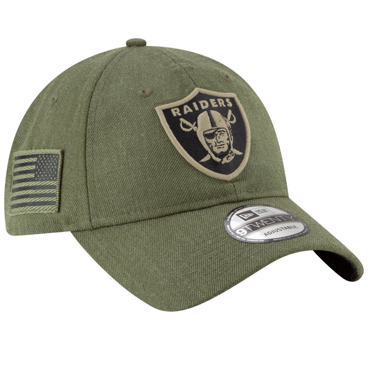 amfoo - New Era 9Twenty Cap - Salute to Service Las Vegas Raiders