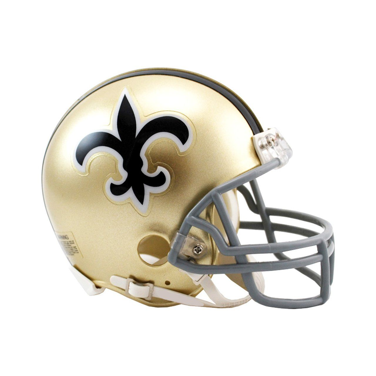 amfoo - Riddell VSR4 Mini Football Helm - New Orleans Saints 1967-75