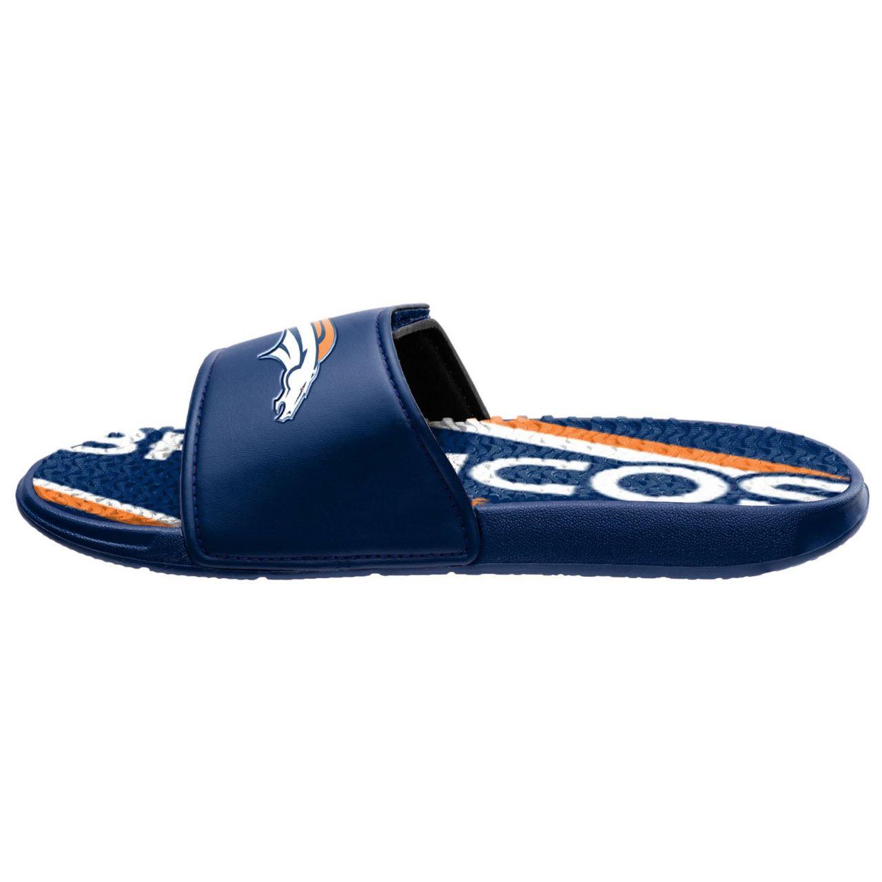amfoo - Denver Broncos Badelatschen NFL GEL Sport Slides