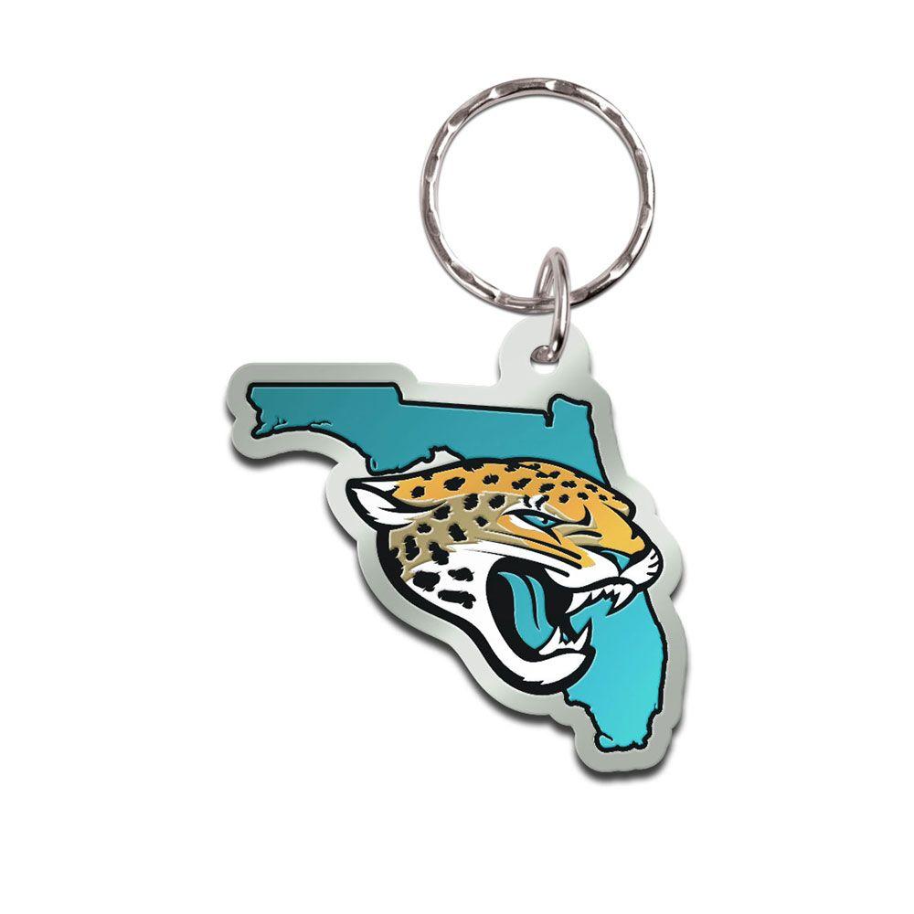 amfoo - Wincraft STATE Schlüsselanhänger - NFL Jacksonville Jaguars