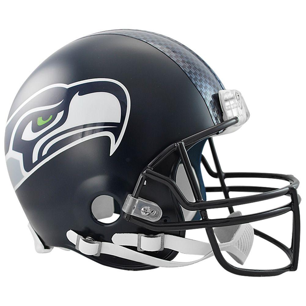 amfoo - Riddell VSR4 Authentic Football Helm - NFL Seattle Seahawks